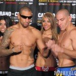 Heiron Taylor 150x150 Strikeforce: Carano vs. Cyborg Weigh ins