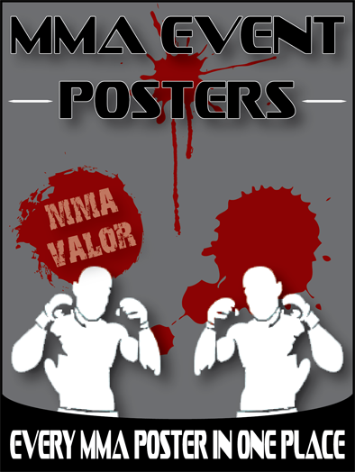 MMA Event Posters