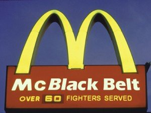 Don't Knock the McBlack Belt
