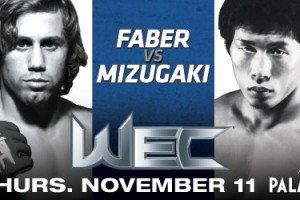 WEC 52: Faber vs. Mizugaki Predictions
