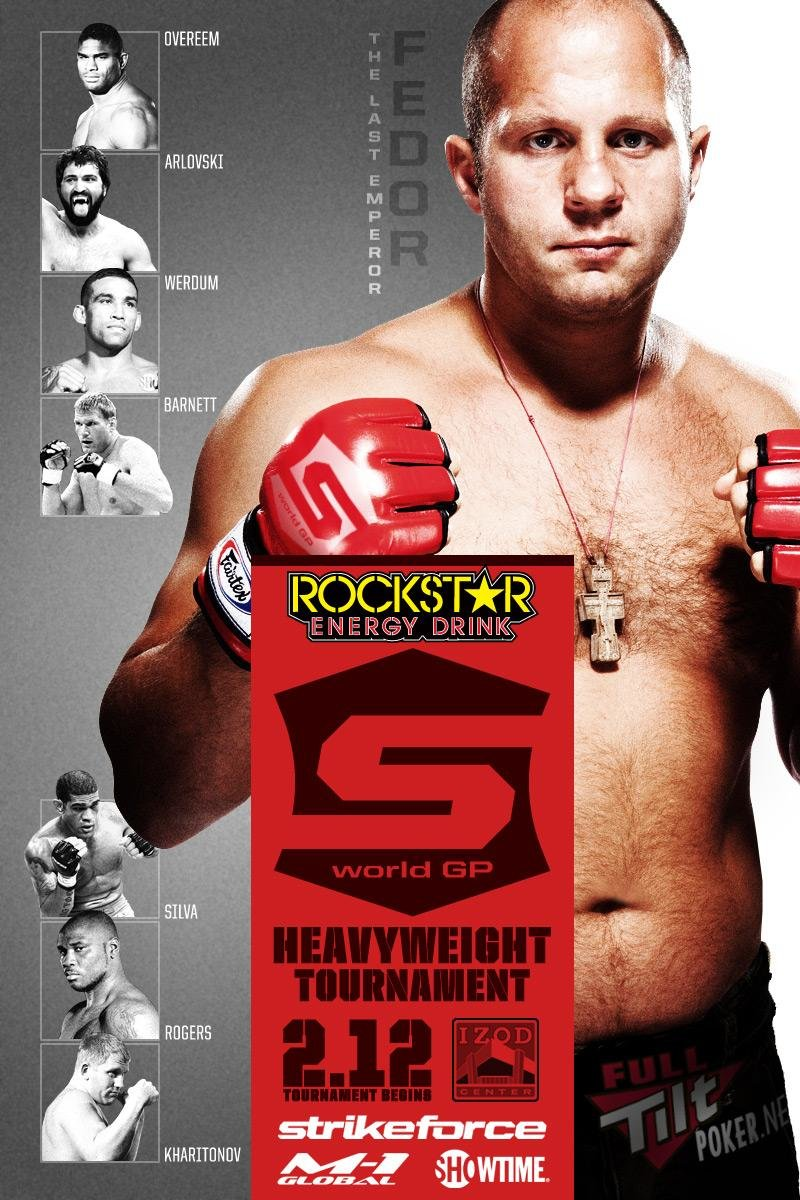 Strikeforce 02.12 Tournament Poster