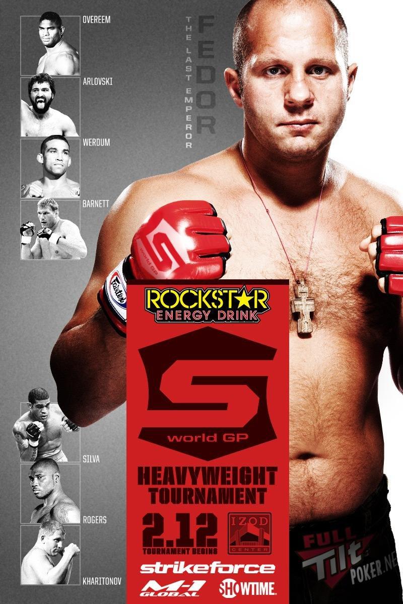 Strikeforce 02.12 Tournament Poster