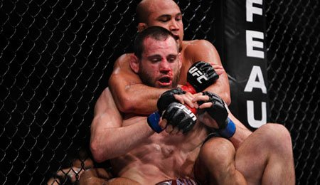 Penn and Fitch battle to Majority Draw at UFC 127