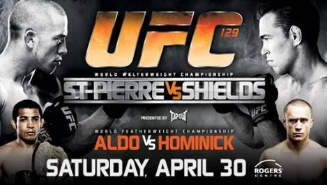 UFC 129 long UFC 129: St Pierre vs Shields Main card Breakdown
