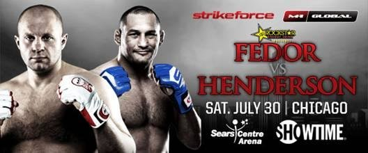 Strikeforce fedor v henderson