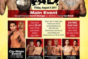 Highlight List of MMA events in the Month of August 2011