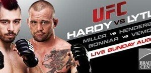 UFC on Versus 5: Hardy vs. Lytle Results