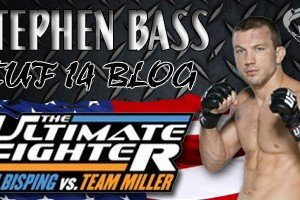 Stephen Bass TUF 14 Episode 6 Blog: Taking Inspiration from Diego Brandao