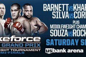 Strikeforce World Grand Prix: Barnett vs. Kharitonov Breadkdown