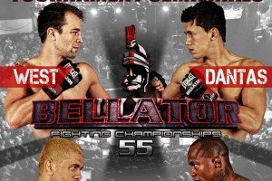 Strange Times at Bellator 55