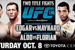 UFC 136: Edgar vs. Maynard 3 Live Results