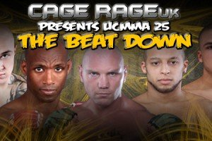 Cage Rage UK 25 Event Review