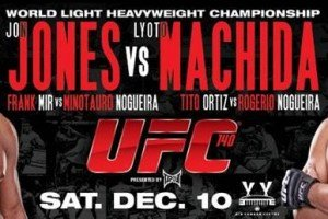 The Betting Corner: UFC 140: Jones vs. Machida