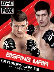 UFC on FOX 2 Bisping v Maia