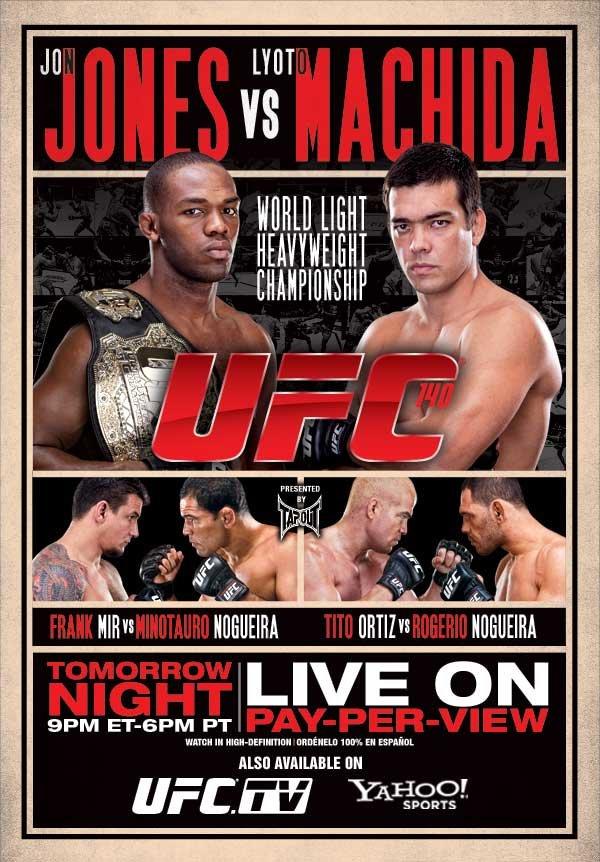 UFC140_poster