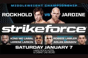 Strikeforce: Rockhold vs. Jardine Live Results