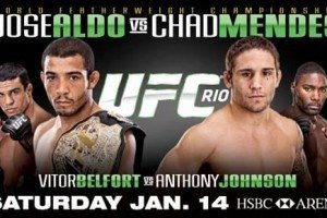 UFC 142: Aldo vs. Mendes Main Card Video Previews