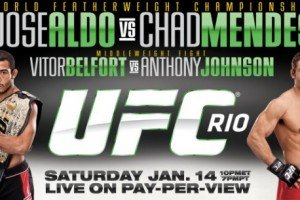 UFC 142: Aldo vs. Mendes Live Results