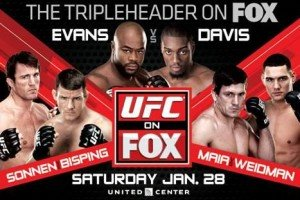 UFC on FOX: Evans vs. Davis Bold Predictions