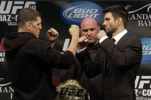 Carlos Condit vs. Nick Diaz 2 all but Official (Update)