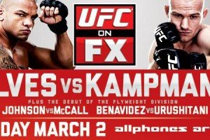 UFC on FX: Alves vs. Kampmann Live Results(UPDATE)