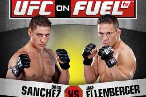 UFC on Fuel TV: Sanchez vs. Ellenberger Results