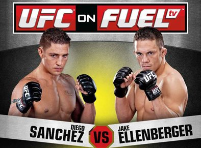 UFC on Fuel TV 1 Sanchez vs Ellenberger