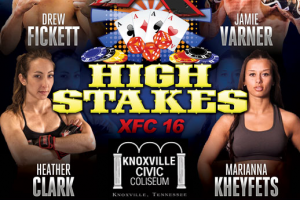 Main Event of XFC 16: High Stakes Main Card Live Results