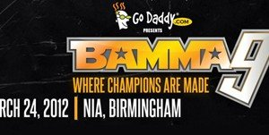 BAMMA Announces Final BAMMA 9 Fight Card, hopefully…..