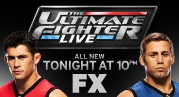 TUF Live Cruz vs Faber