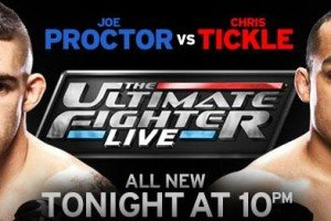 TUF Live: Chris Tickle gets Hammered and then Choked out!