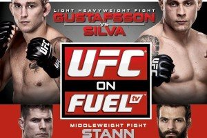 UFC on FUEL TV: Gustafsson vs. Silva Live Results