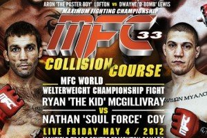 Results from the Bloodbath that was MFC 33: Collision Course