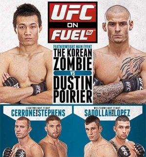 UFC on FUEL TV Main Card