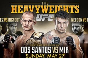 UFC 146 Main Card Live Results
