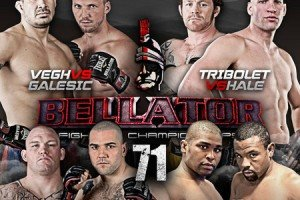Bellator Opened the Summer Series at tonight&#8217;s Bellator 71