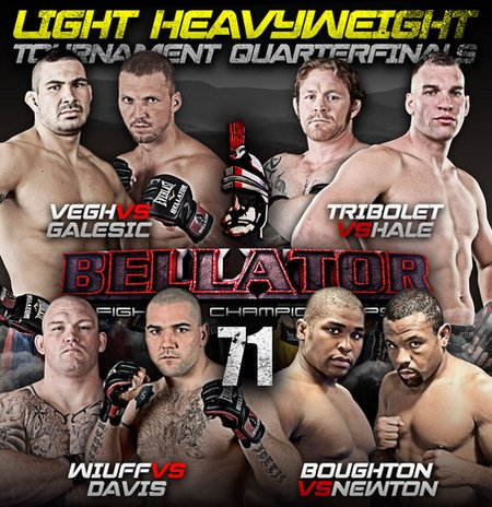 Bellator 71 Light Heavweight