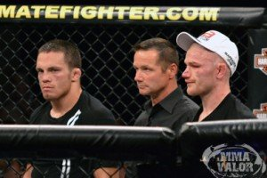 Jake Ellenberger Not too thrilled with Stoppage
