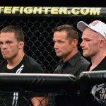 Ellenberger and Kampmann at TUF Live Finale