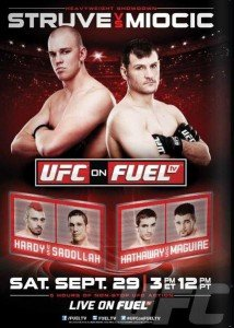 UFC on Fuel TV 5: Struve vs. Miocic Predictions