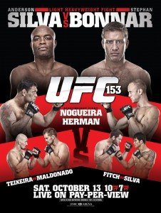 UFC 153: Silva vs. Bonnar Fight Night Bonuses