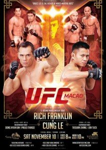 UFC on Fuel TV 6, UFC: Macao