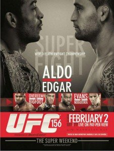 UFC 156: Aldo vs. Edgar Results