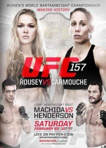 UFC 157: Rousey vs. Carmouche Fight Night Bonuses
