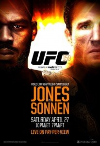 Results from an odd UFC 159: Jones vs. Sonnen