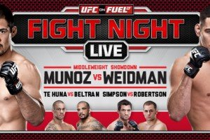 UFC on FUEL TV 4: Munoz vs. Weidman Predictions