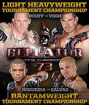 Bellator73 poster