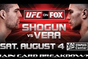 UFC on FOX 4 Main Card Breakdown