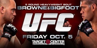 The Fight Report: UFC on FX 5: Browne vs. Bigfoot