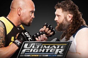 Outlook of The Ultimate Fighter Fridays: Team Carwin vs. Team Nelson